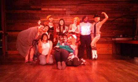 Nine-Tease cast and crew