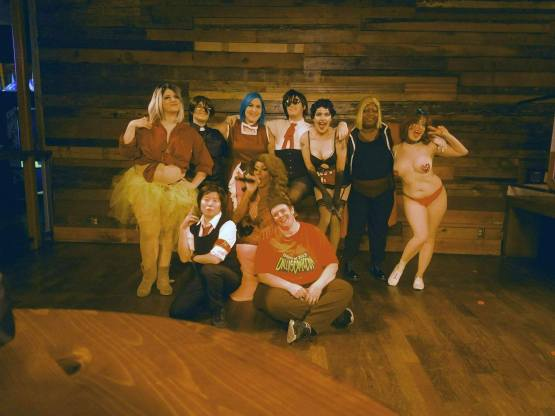 Ani-GAY cast and crew