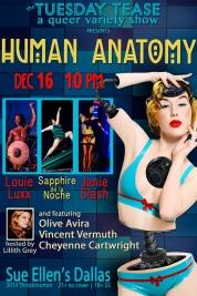 Tuesday Tease Human Anatomy