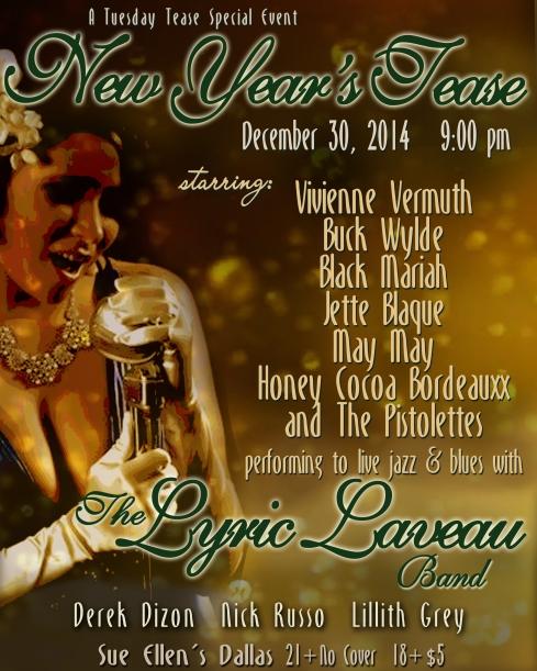 Tuesday Tease new year's tease