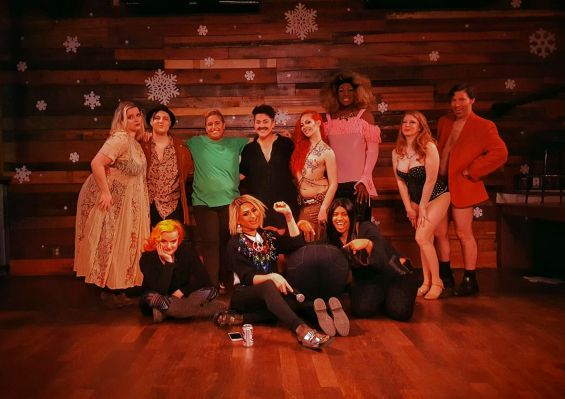Seven-Tease cast and crew