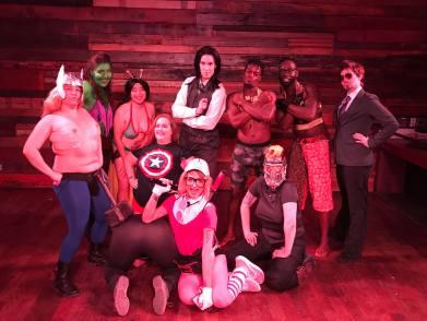 Queervengers: InfiniTease War cast and crew