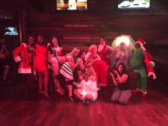 Xmas in July cast and crew