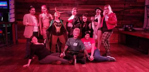 Evergreen with Enby cast and crew
