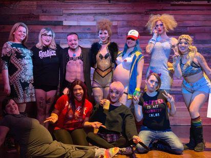 Birthday Bash Tease cast and crew