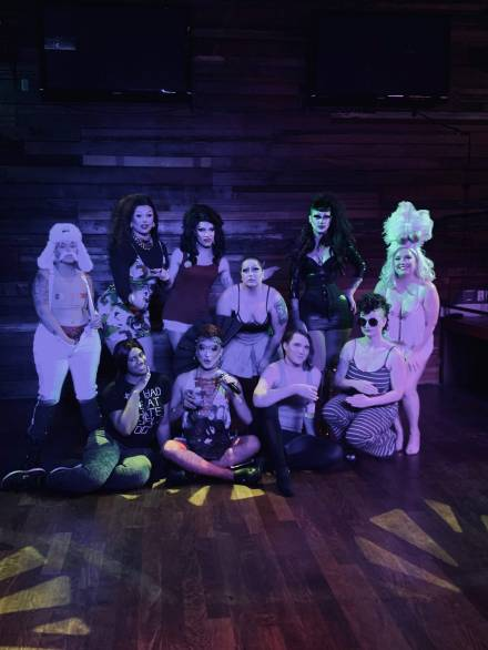 Cocktail Tease cast and crew