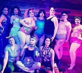 Trans Pride cast and crew