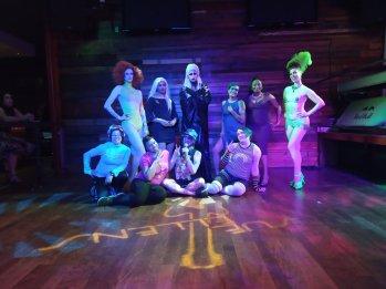 Rainbow Glam cast and crew